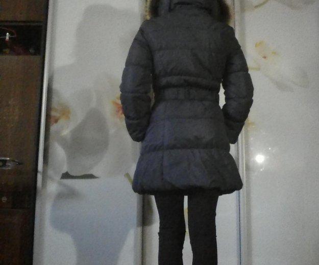 Пальто пуховое зимнее женское. Фото 1. Рязань.