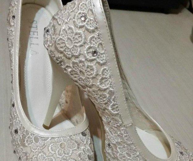 Туфли свадебные. Фото 1. Курск.