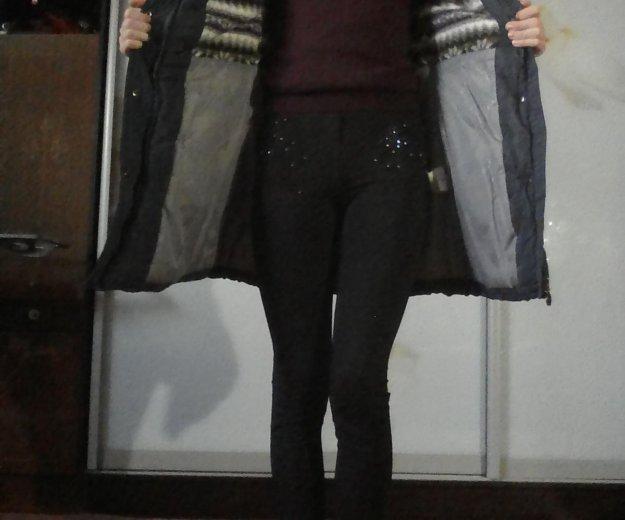 Пальто пуховое зимнее женское. Фото 2. Рязань.