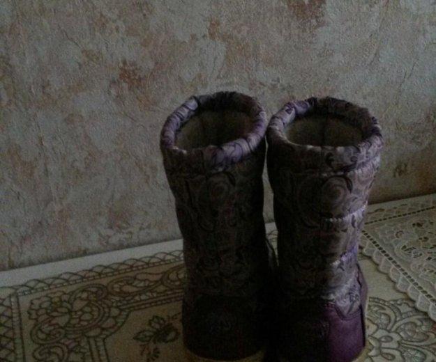 Зимние сапоги. Фото 2. Москва.