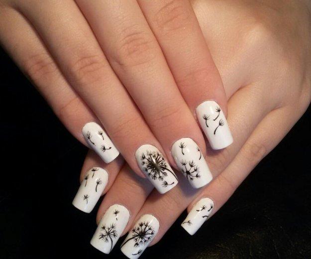 Гель-лак, наращивание ногтей, маникюр. Фото 1. Самара.