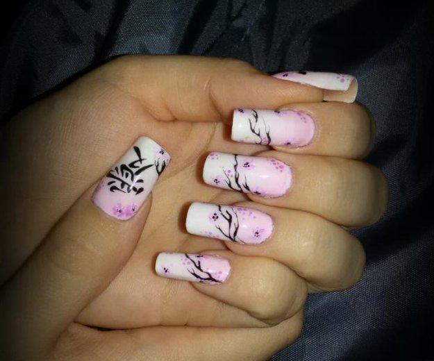 Гель-лак, наращивание ногтей, маникюр. Фото 2. Самара.
