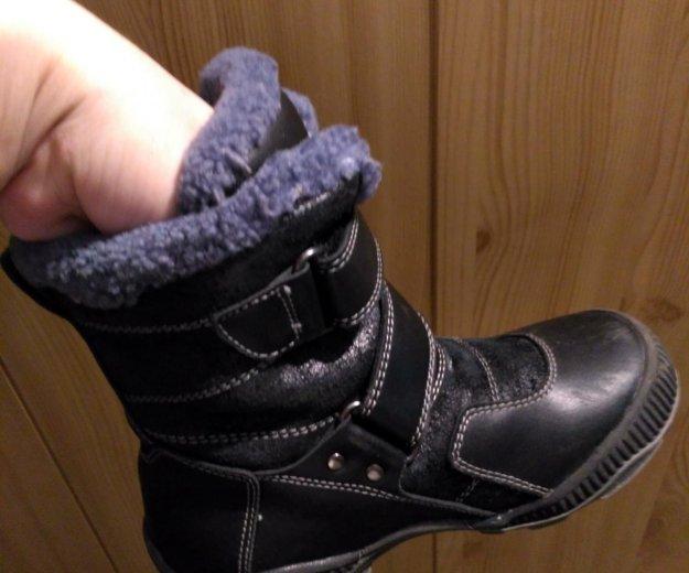 Зимние ботиночки. Фото 2. Томск.