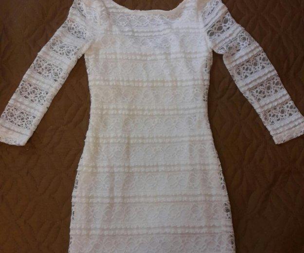 Белое платье. Фото 1. Москва.
