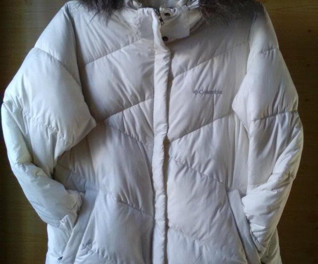 Курта зимняя коламбия размер xl. Фото 2.
