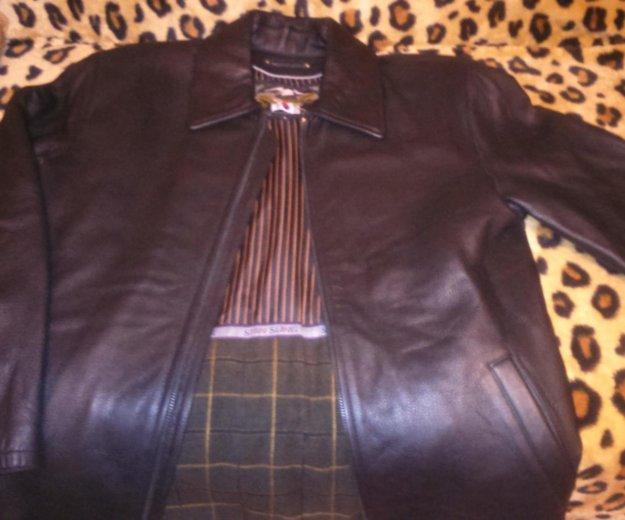 Куртка кожаная новая. Фото 1. Москва.