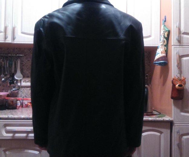 Куртка кожаная новая. Фото 2. Москва.