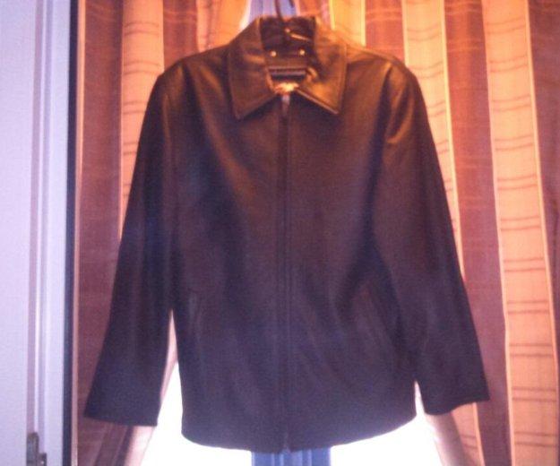 Куртка кожаная новая. Фото 4. Москва.