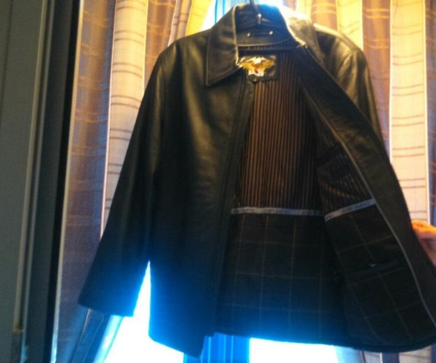 Куртка кожаная новая. Фото 3. Москва.