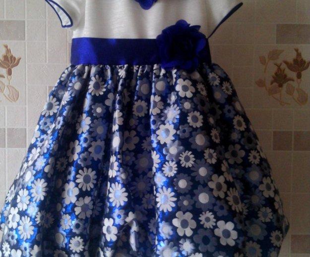 Праздничное детское платье 98 р. Фото 1. Заволжье.