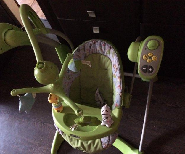 Электронные качели graco. Фото 2. Серпухов.