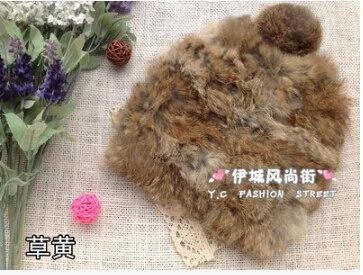 Меховая шапка (кролик) 8 цветов. Фото 3.