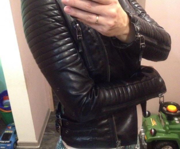 Продам новая кож.куртка. Фото 1. Яблоновский.
