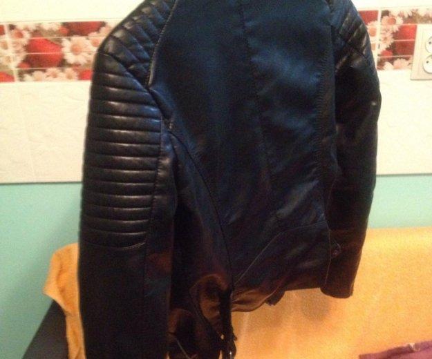 Продам новая кож.куртка. Фото 2. Яблоновский.