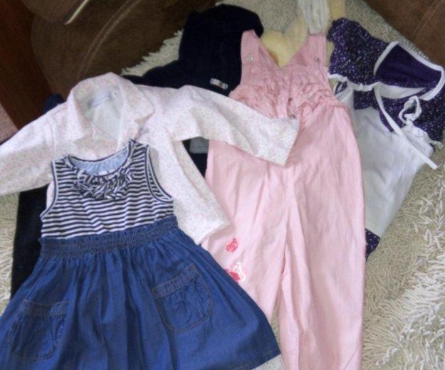 Пакет одежды на девочку 80-86 рост. Фото 1.