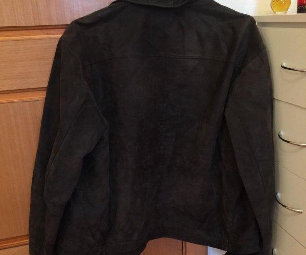 Куртка замшевая мужская. Фото 2. Москва.