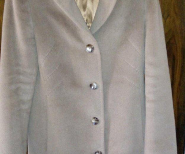 Пальто осень- весна, кашемир. Фото 1. Железнодорожный.