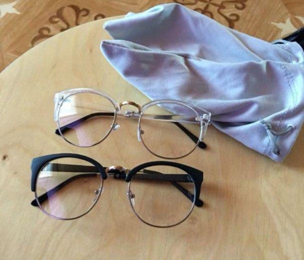Очки для имиджа новые, очки без диоптрий. Фото 1. Москва.