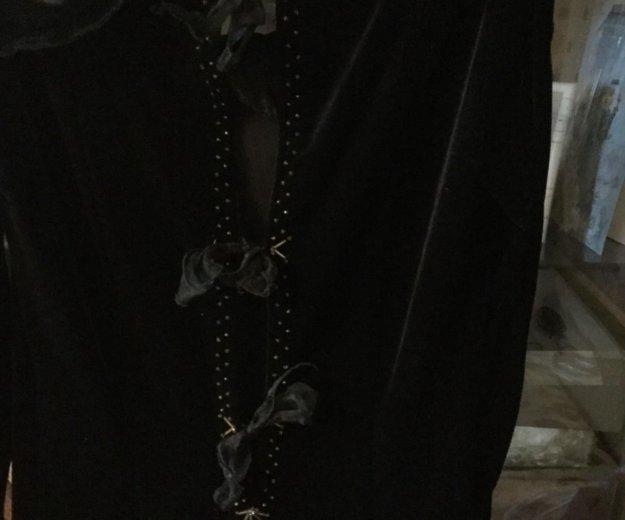 Платье бархатное. Фото 3. Щёлково.