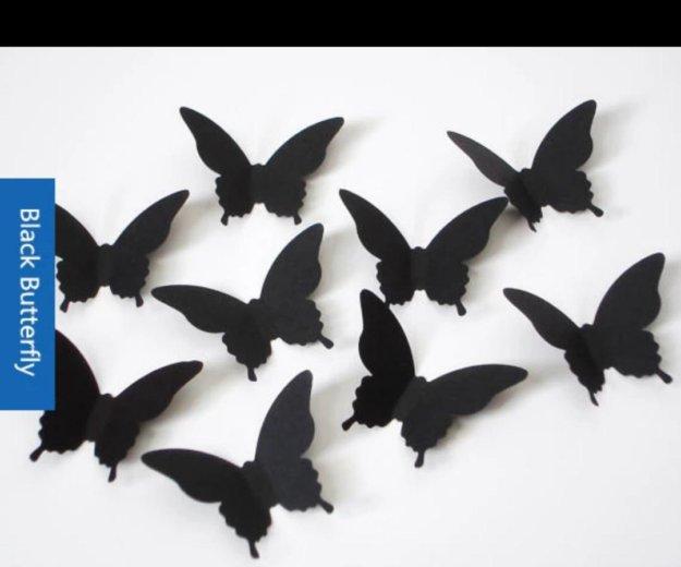3d бабочки на стену. Фото 3. Егорьевск.