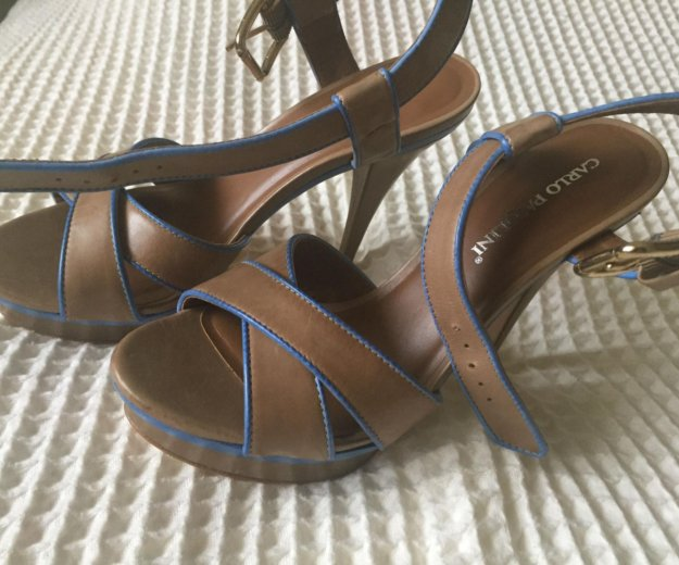 Туфли новые карло пазолини, размер 37. Фото 3. Зеленоград.