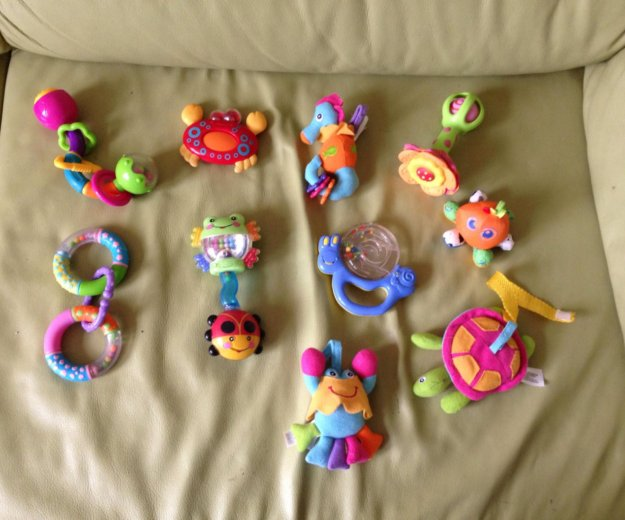 Игрушки для ребёнка до 1 года. Фото 4. Долгопрудный.