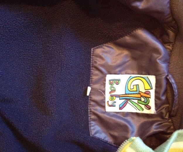 Курточка на флисе. Фото 3.