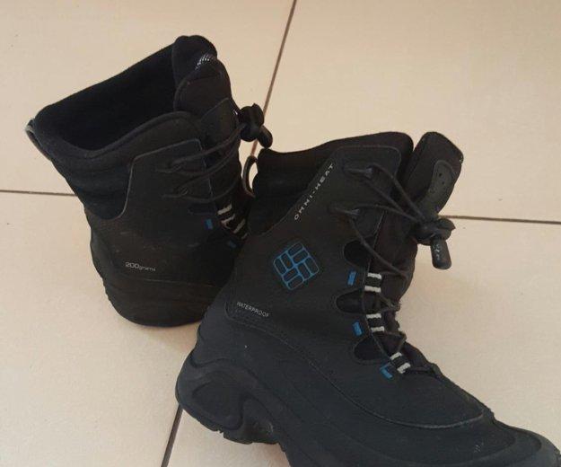 Зимние ботинки columbia. Фото 2.