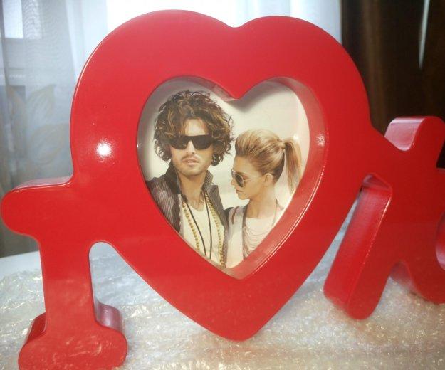 """Рамка для фото """"я тебя люблю"""". Фото 2. Красногорск."""