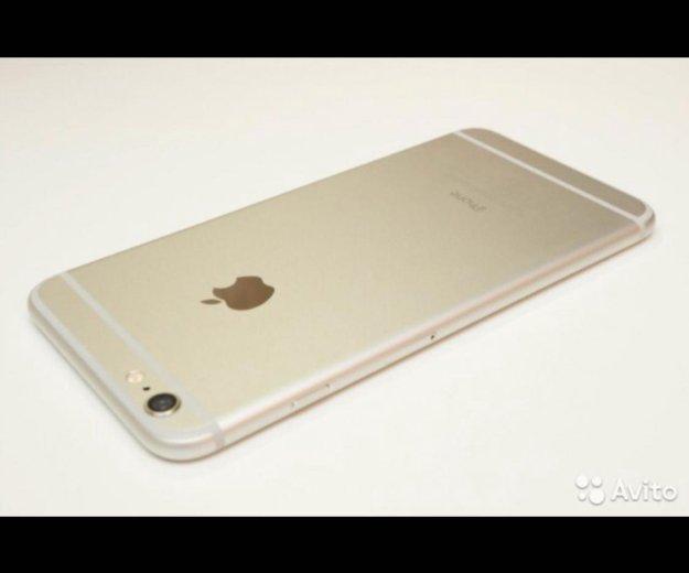 Iphone 6 plus 64 gb белый ( +new cover в подарок). Фото 1.