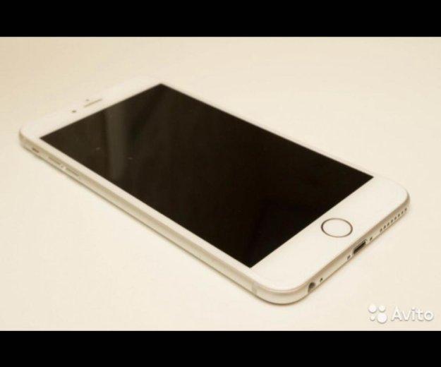 Iphone 6 plus 64 gb белый ( +new cover в подарок). Фото 2.