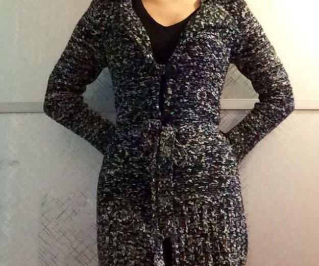 40-42 размер. вязанная тёплая кофта, облегает. Фото 4. Балашиха.