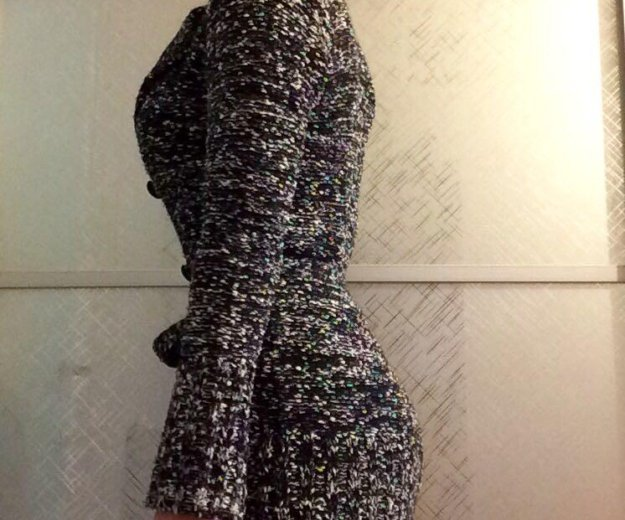 40-42 размер. вязанная тёплая кофта, облегает. Фото 3. Балашиха.