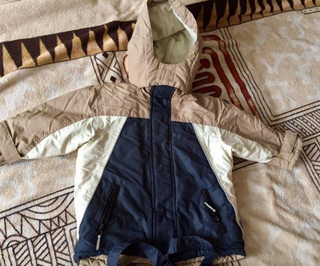 Комплект зимний для мальчика. Фото 1.