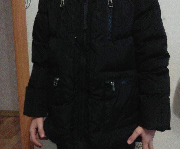 Пуховик на девочку р.122-128. Фото 4. Челябинск.