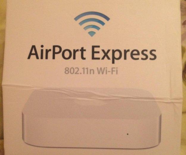 Airport express(роутер)802.11n wi-fi. Фото 1.