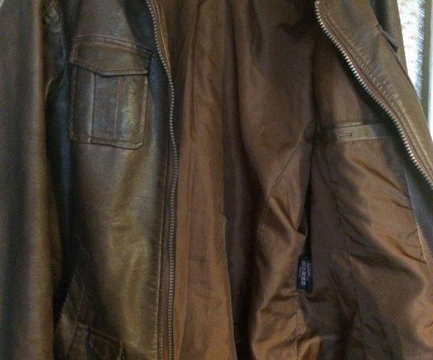 Куртка из кожзаменителя. Фото 3. Нижний Новгород.