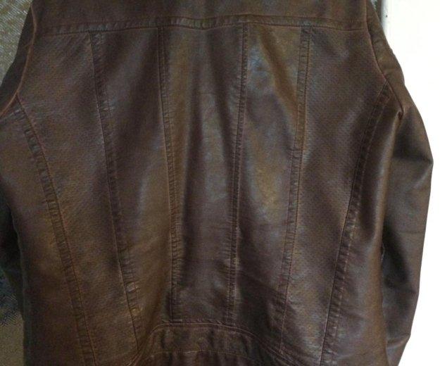 Куртка из кожзаменителя. Фото 2. Нижний Новгород.