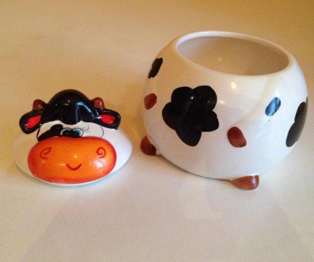 Керамический набор : чайник и сахарница. Фото 3. Екатеринбург.