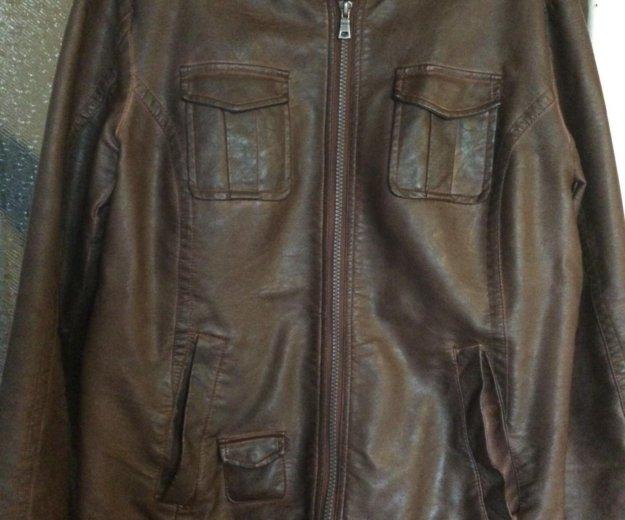 Куртка из кожзаменителя. Фото 1. Нижний Новгород.