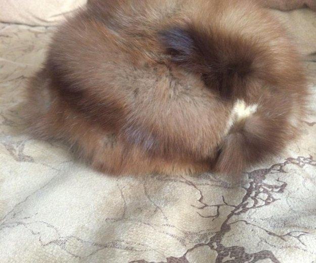 Шапка женская из натурального меха. Фото 1. Орел.