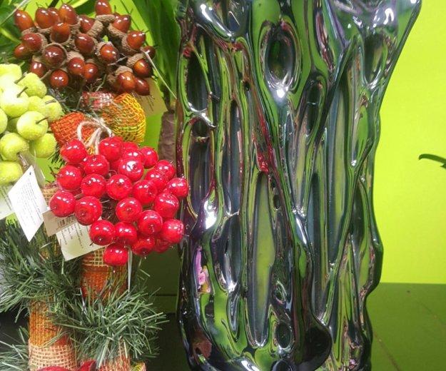 Ваза для цветов мурановское стекло. Фото 1. Москва.