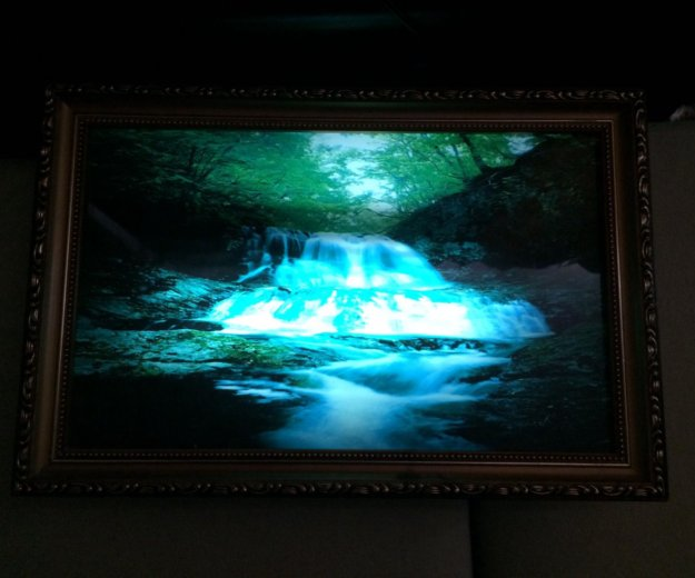 Картина светильник. Фото 1. Краснодар.