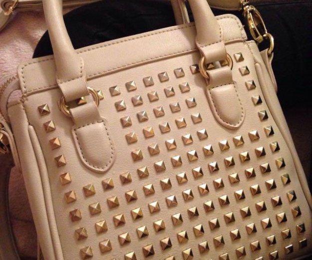 Кожаная стильная сумка mexx. Фото 1. Москва.