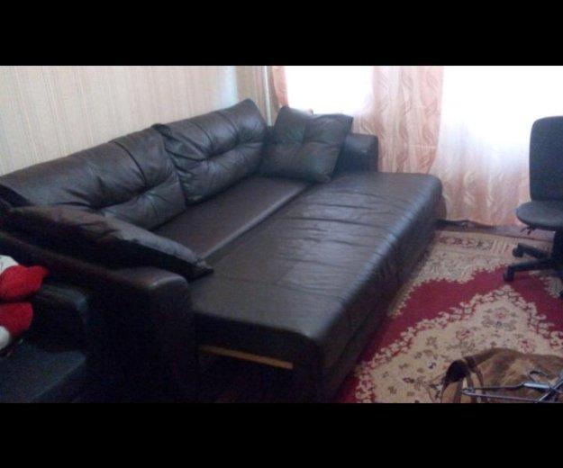 Кожанный диван. Фото 1. Пятигорск.
