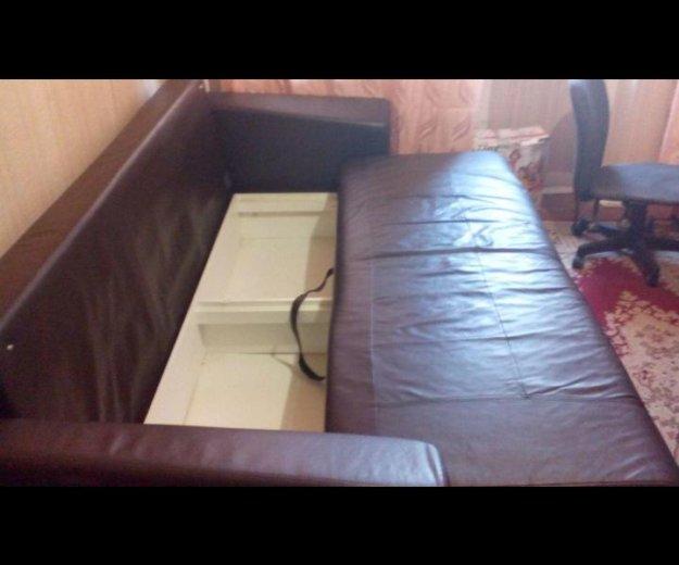 Кожанный диван. Фото 2. Пятигорск.
