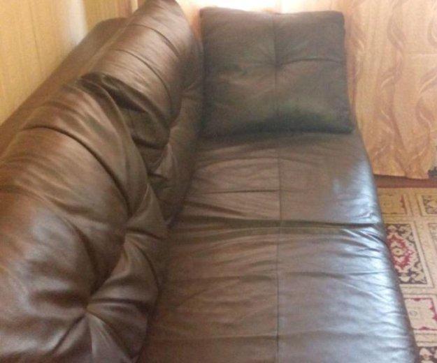 Кожанный диван. Фото 4. Пятигорск.