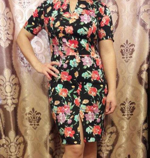 Цветочное платье. Фото 1. Санкт-Петербург.