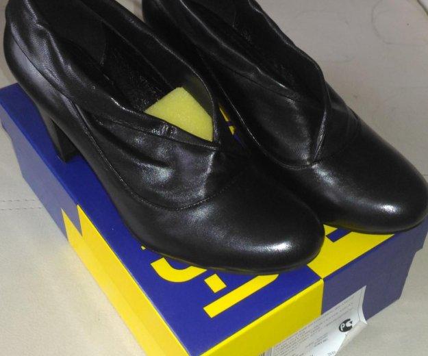 Новые кожаные туфли. Фото 1. Санкт-Петербург.