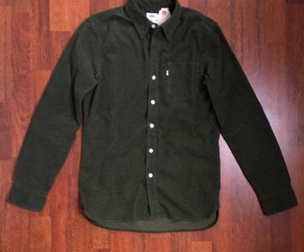Новая вельветовая рубашка levi's. Фото 1.